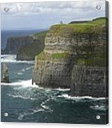 Cliffs Of Moher 2 Acrylic Print by Mike McGlothlen