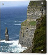 Cliffs Of Moher 7 Acrylic Print by Mike McGlothlen