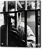 Clint Eastwood In Escape From Alcatraz  Acrylic Print by Silver Screen