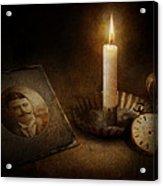 Clock - Memories Eternal Acrylic Print by Mike Savad