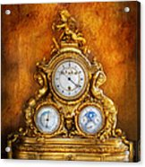 Clockmaker - Anyone Have The Time Acrylic Print by Mike Savad