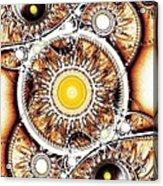 Clockwork Acrylic Print by Anastasiya Malakhova