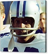 Bob Hayes Acrylic Print by Retro Images Archive