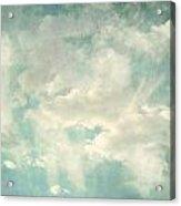 Cloud Series 1 Of 6 Acrylic Print by Brett Pfister