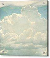 Cloud Series 2 Of 6 Acrylic Print by Brett Pfister