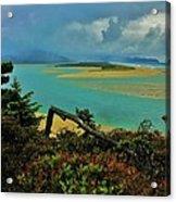 Coastal Storm Acrylic Print by Benjamin Yeager