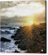 Coastal Sunrise Acrylic Print by Tom York Images