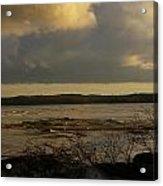 Coastal Winters Afternoon 3 Acrylic Print by Amy-Elizabeth Toomey