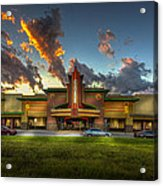 Cobb Theater Acrylic Print by Marvin Spates