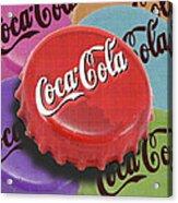 Coca-cola Cap Acrylic Print by Tony Rubino
