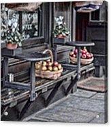 Coffe Shop Cafe Acrylic Print by Heather Applegate