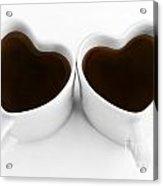 Coffee Lovers Acrylic Print by Dan Holm