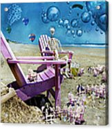 Collective Souls Acrylic Print by Betsy C Knapp