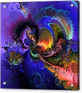 Color Gone Amok Acrylic Print by Claude McCoy