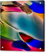 Color Wall Acrylic Print by Omaste Witkowski