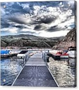 Colorado Boating Acrylic Print by Dan Sproul