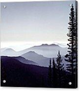 Colorado Haze Acrylic Print by Adam Romanowicz
