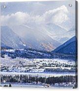 Colorado Rocky Mountain Autumn Storm Acrylic Print by James BO  Insogna