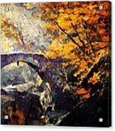 Colors Of Autumn Acrylic Print by Gun Legler