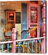 Colors Of Metamora 1 Acrylic Print by Mel Steinhauer