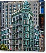 Columbus Tower In San Francisco Acrylic Print by RicardMN Photography