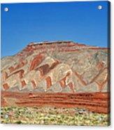 Comb Ridge Utah Near Mexican Hat Acrylic Print by Christine Till