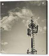 Communication Tower Acrylic Print by Marco Oliveira