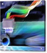 Computing 2 Acrylic Print by Steve Ohlsen