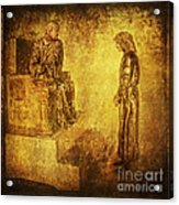 Condemned Via Dolorosa1 Acrylic Print by Lianne Schneider