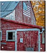 Connecticut Farmstand Acrylic Print by Thomas Schoeller