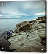 Cool To The Touch Acrylic Print by Mary Amerman