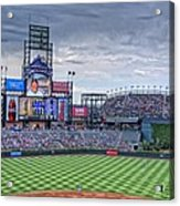 Coors Field Acrylic Print by Ron White