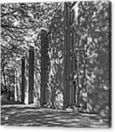 Cornell College Tarr Hall Acrylic Print by University Icons
