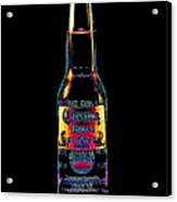 Corona Beer 20130405 Acrylic Print by Wingsdomain Art and Photography