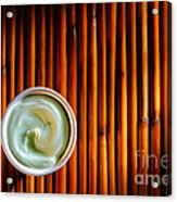 Cosmetic Cream Acrylic Print by Olivier Le Queinec