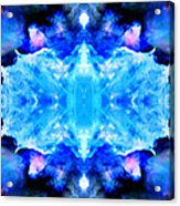 Cosmic Kaleidoscope 1 Acrylic Print by The  Vault - Jennifer Rondinelli Reilly