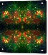 Cosmic Kaleidoscope 3 Acrylic Print by The  Vault - Jennifer Rondinelli Reilly