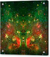 Cosmic Reflection 1 Acrylic Print by The  Vault - Jennifer Rondinelli Reilly