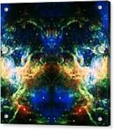 Cosmic Reflection 2 Acrylic Print by The  Vault - Jennifer Rondinelli Reilly