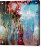 Cosmic String Acrylic Print by Linda Sannuti