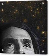 Cosmos- Carl Sagan Acrylic Print by Simon Kregar