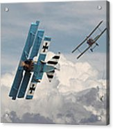 Counterstrike Acrylic Print by Pat Speirs
