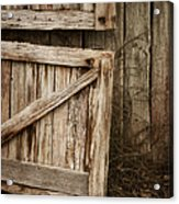 Country Charm Acrylic Print by Amy Weiss