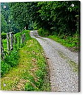 Country Road Acrylic Print by Frozen in Time Fine Art Photography