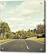 Country Road Acrylic Print by Tom Gowanlock