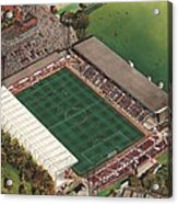 County Ground - Swindon Town Acrylic Print by Kevin Fletcher