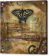 Courage To Change Acrylic Print by Shawn Petite