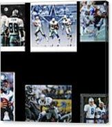 Cowboys Triple Threat  Autographed Reprint Acrylic Print by James Nance