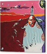 Creation Acrylic Print by Joe  Triano