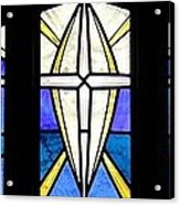 Creation Of The Stars Acrylic Print by Gilroy Stained Glass